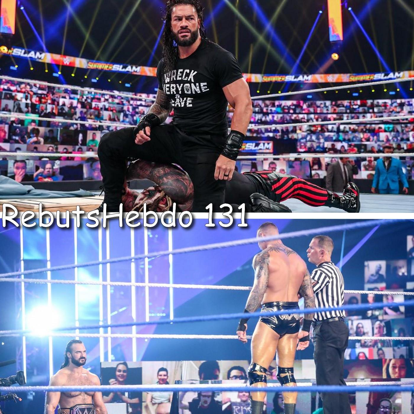 Les Rebuts du Catch : L'Hebdo #131 : Review NXT Takeover XXX & Summerslam 2020