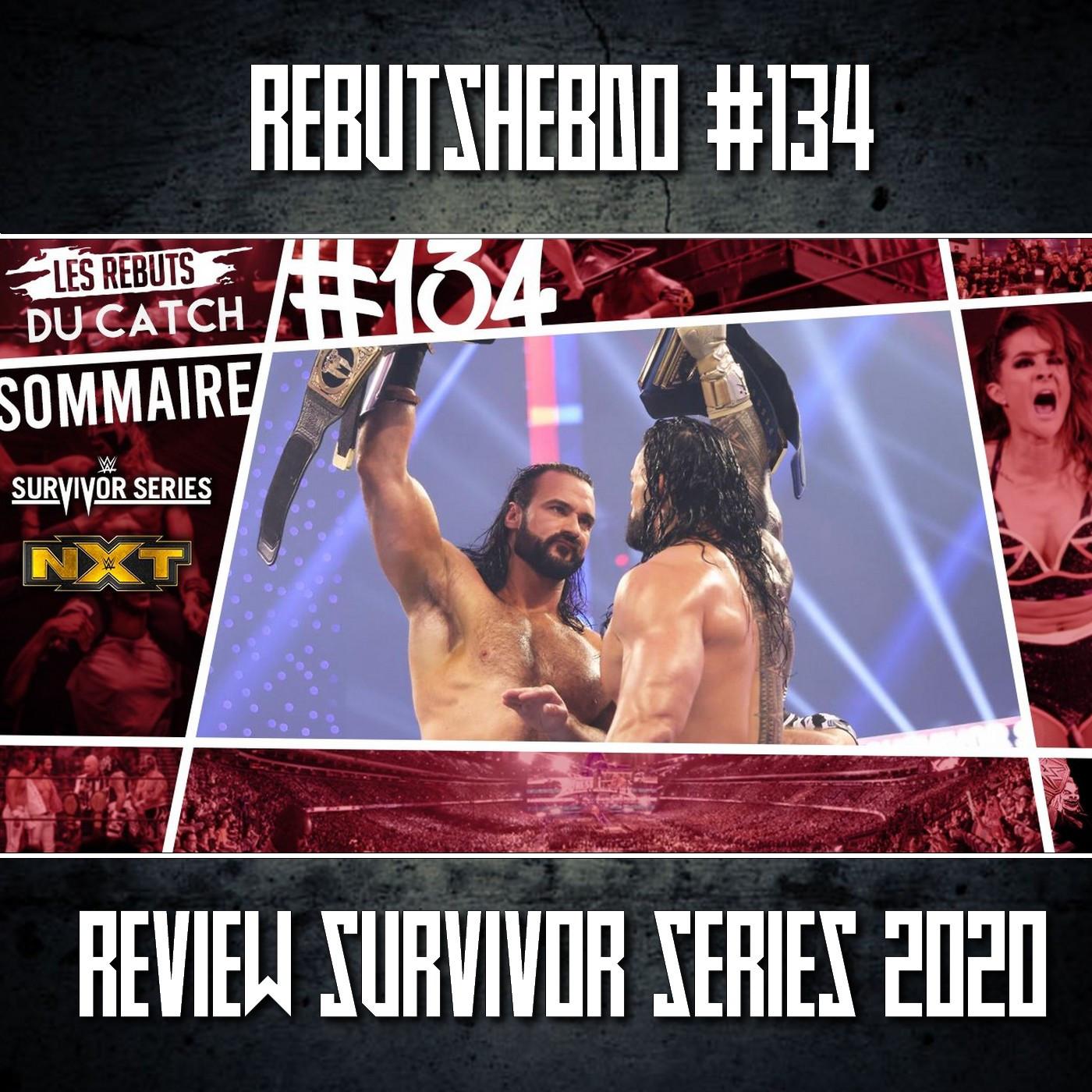 Les Rebuts du Catch : L'Hebdo #134 : Review WWE Survivor Series !