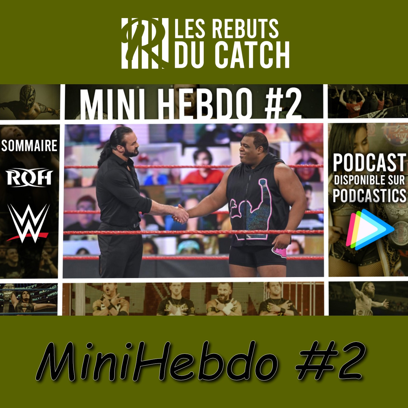 Les Rebuts du Catch : MiniHebdo #2 : Tout savoir sur le ROH PURE TOURNAMENT + Gros débat sur WWE !