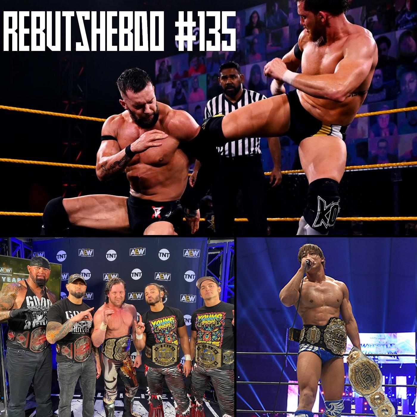 L'Hebdo #135 : Review NJPW Wrestle Kingdom 15 + AEW et NXT le premier show de l'année !