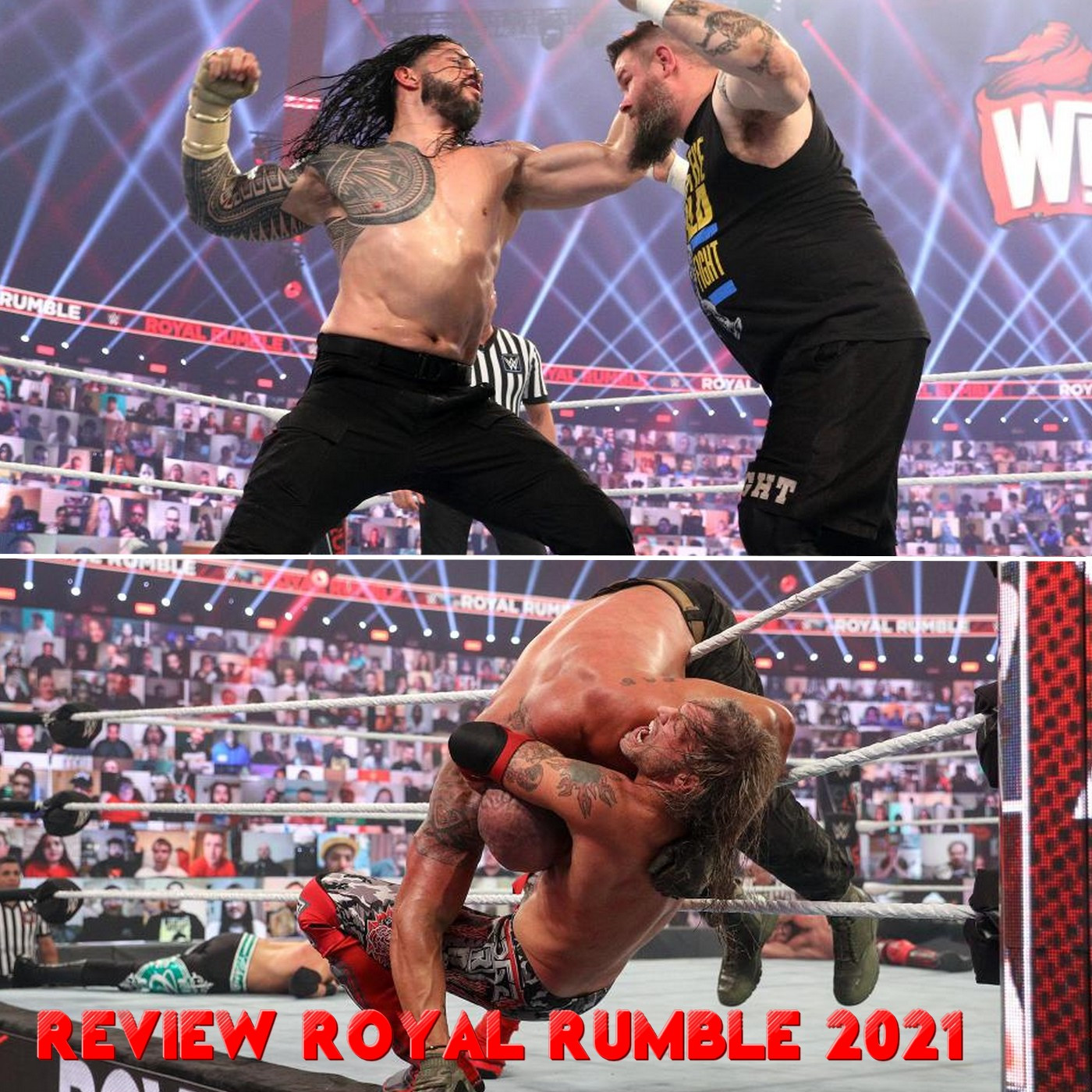 MiniHebdo #7 : Review WWE Royal Rumble 2021, Victoire méritée d'Edge ?