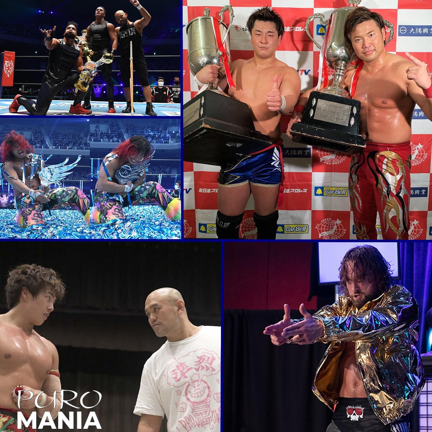 PuroMania #14 : La fin des Tournois Tag et BOSJ + DDT + Overdose du Bullet Club ? Review SJCUP 2020