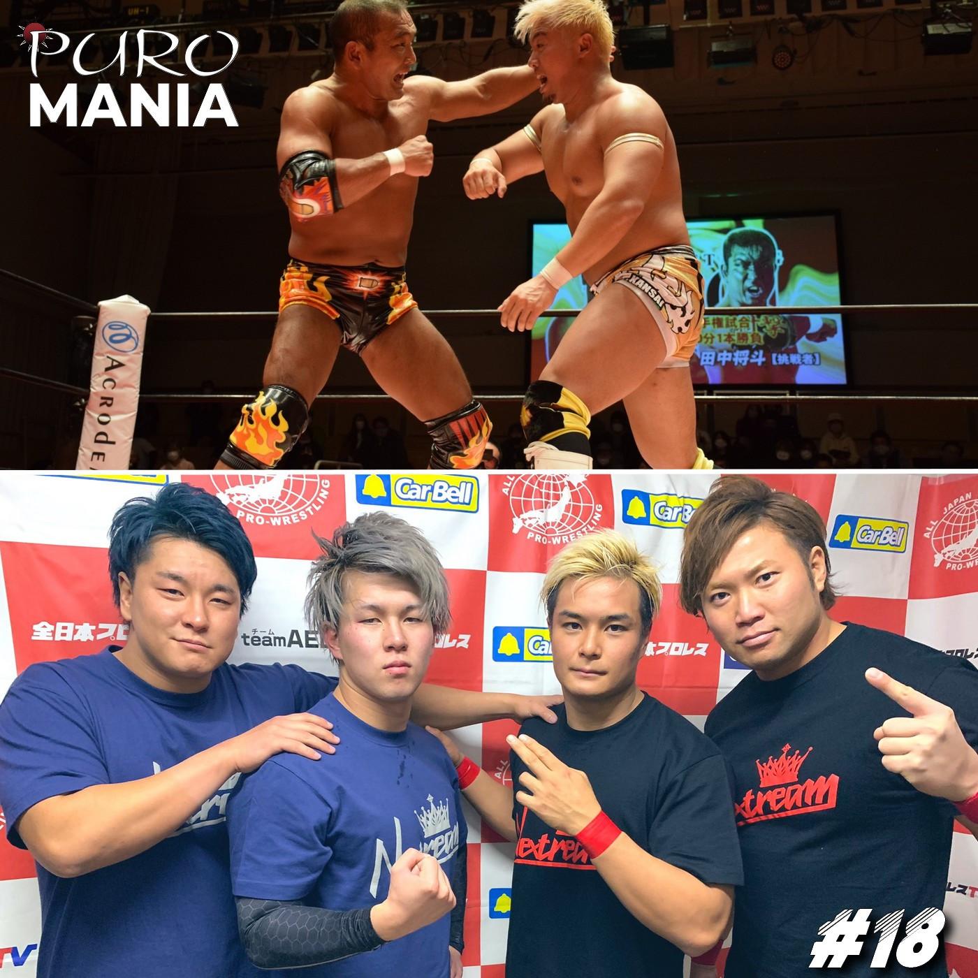 PuroMania #18 : Le début d'année 2021 de BJW et ZERO1+ Preview NJPW NEW BEGINNING