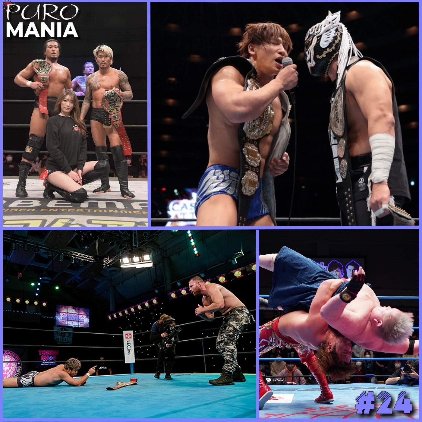 PuroMania #24 : Review NJPW CASTLE ATTACK + MOXLEY VS KENTA + DDT et AJPW du 23/02