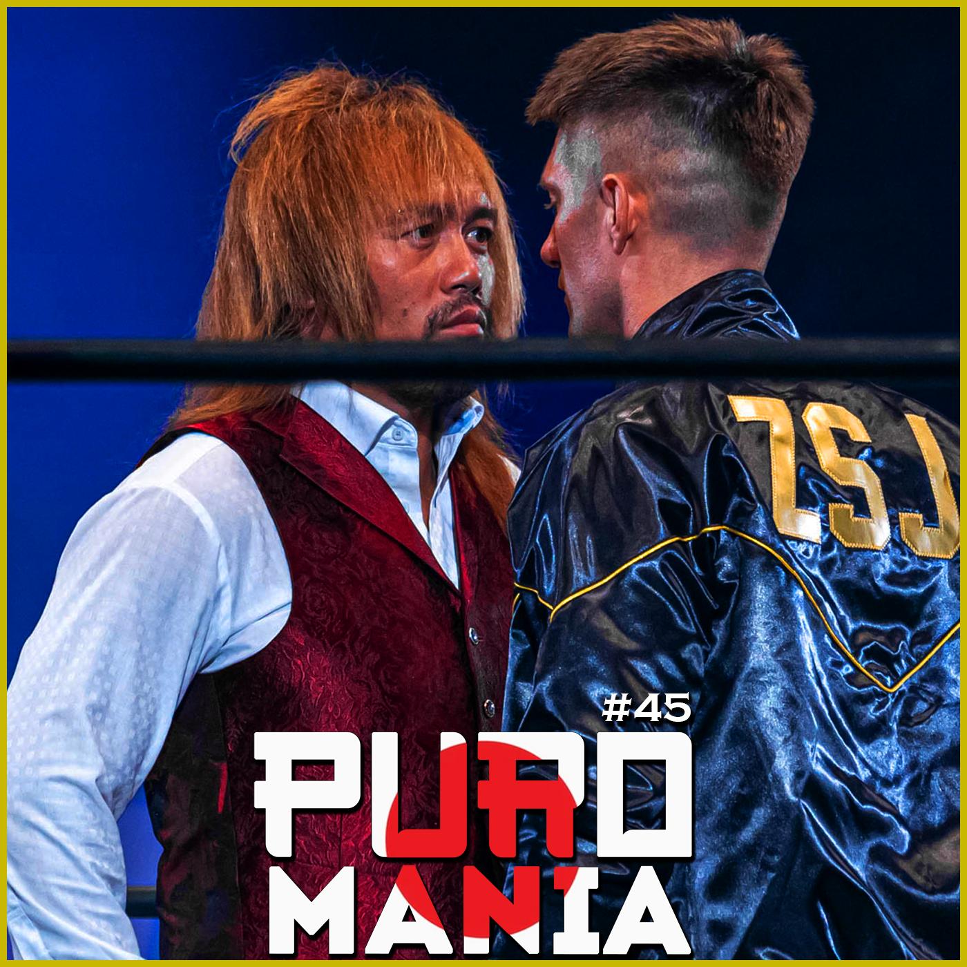 Puromania #45 : Naito Blessé, Shingo vs Ishii 5 🧢 / Kaito Kiyomiya change de look !