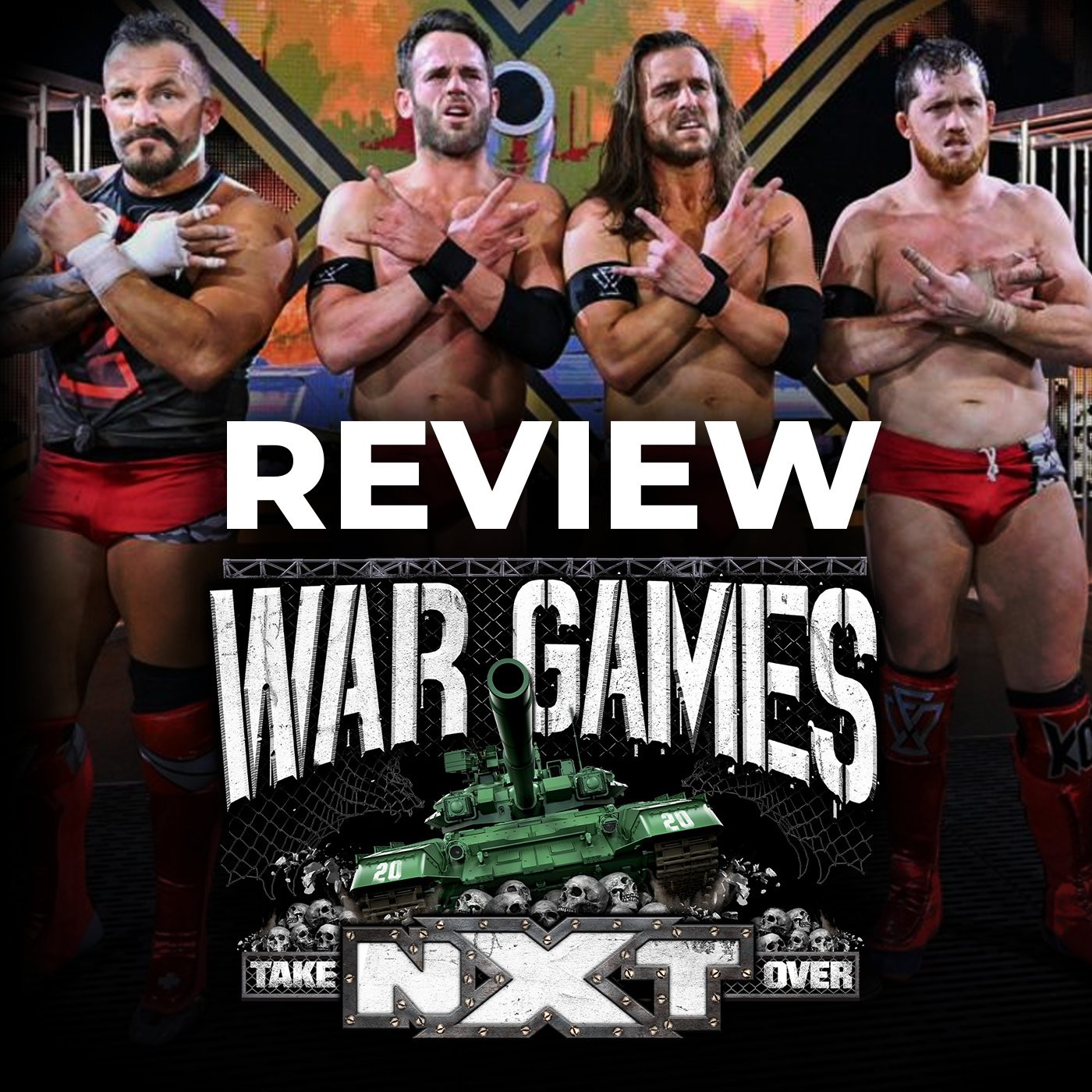 REVIEW de NXT Takeover War Games 2020