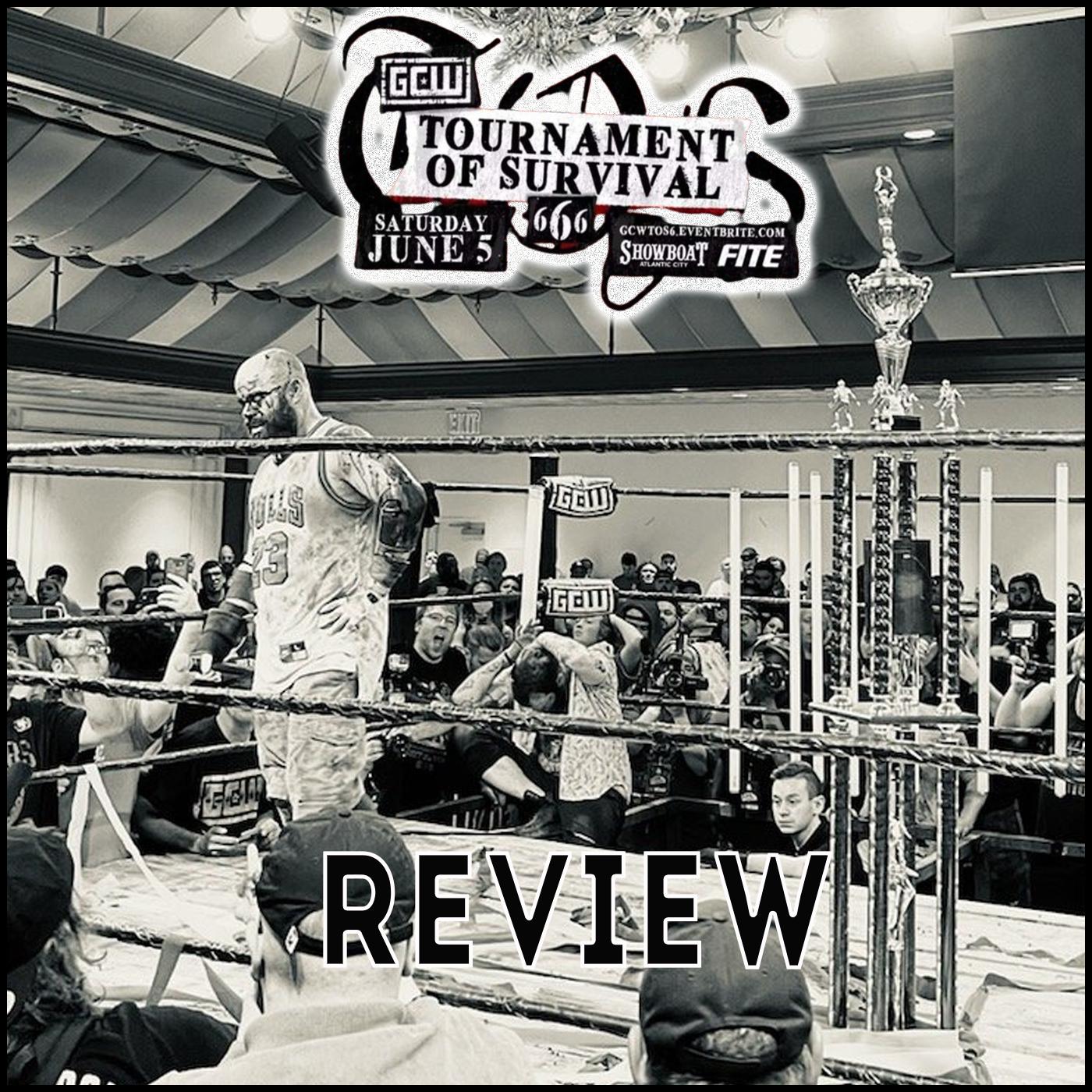 Review GCW : Tournament of Survival 666 : Le Meilleur tournois DM EVER ?