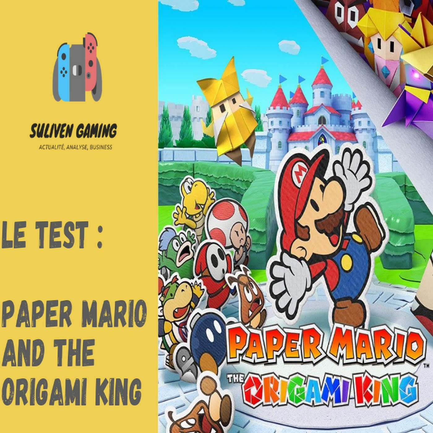 Le test : Paper Mario and the Origami King