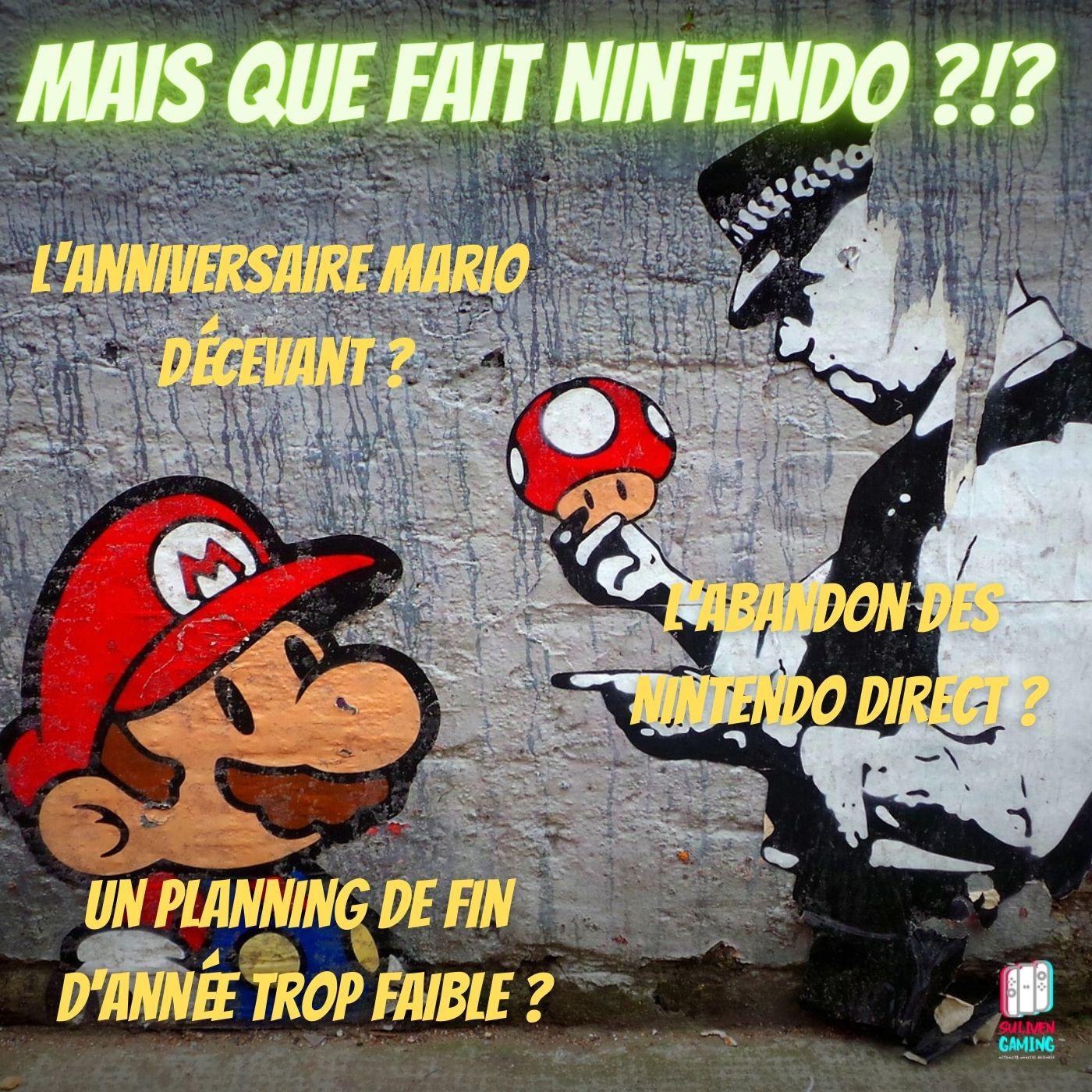 Mais que fait Nintendo ?