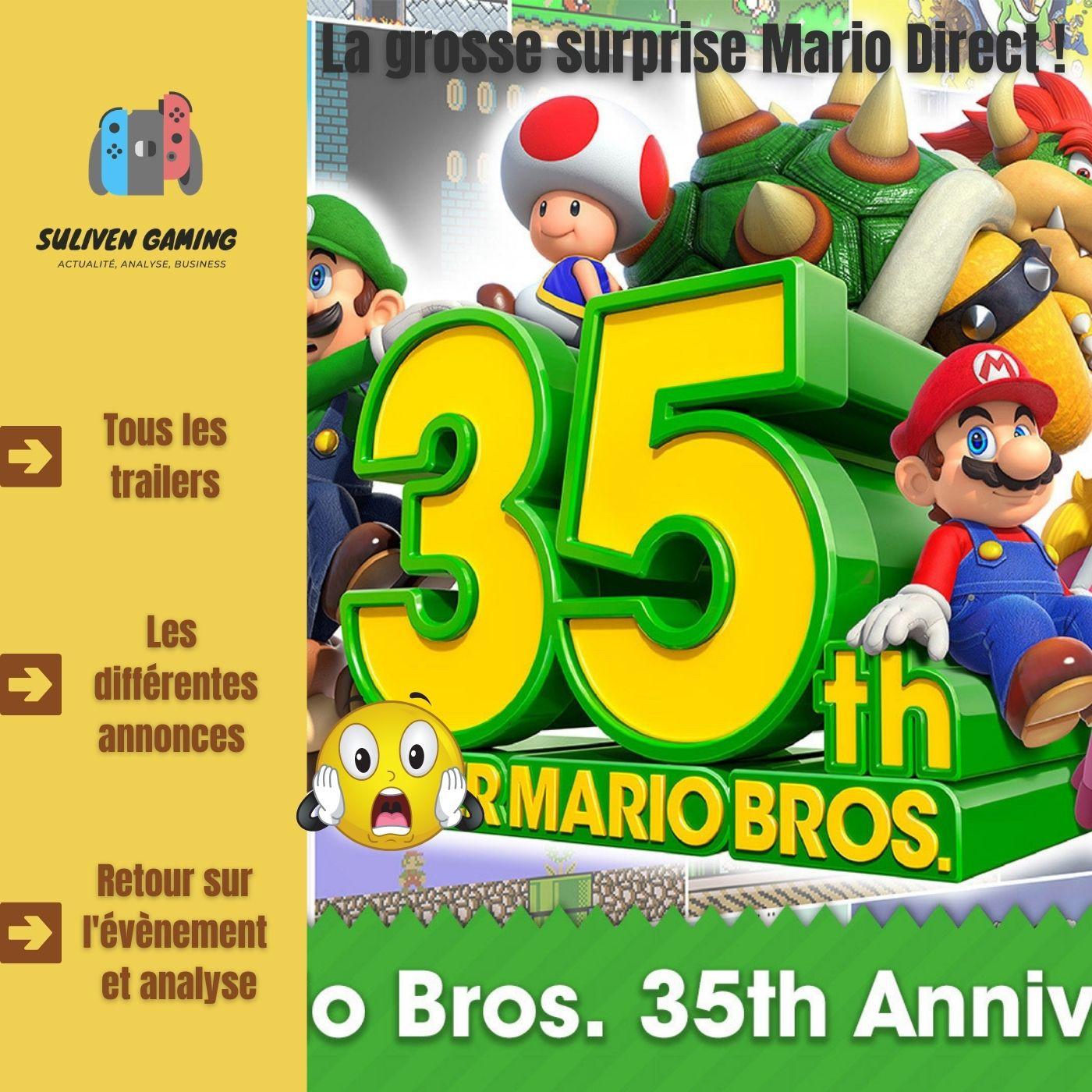 Retour sur l'événement Mario Direct 35ème Anniversaire ! 🔥