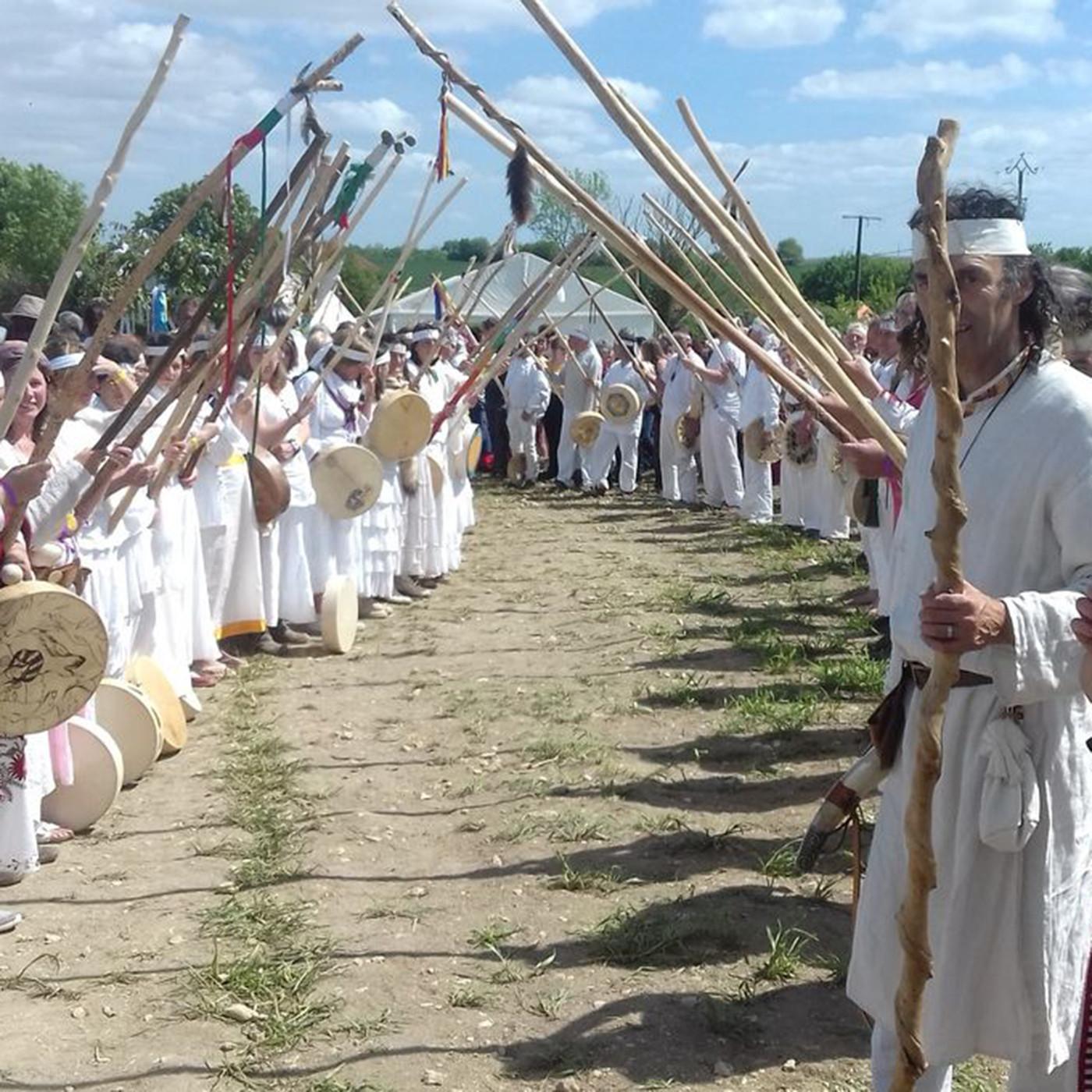 Rencontres au Festival du Chamanisme en France - Herve Estival