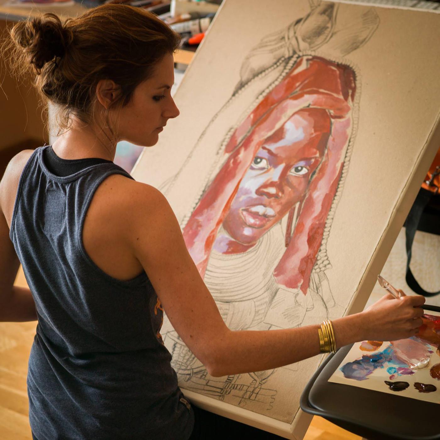 Stéphanie Ledoux, rencontre avec une artiste autour du monde