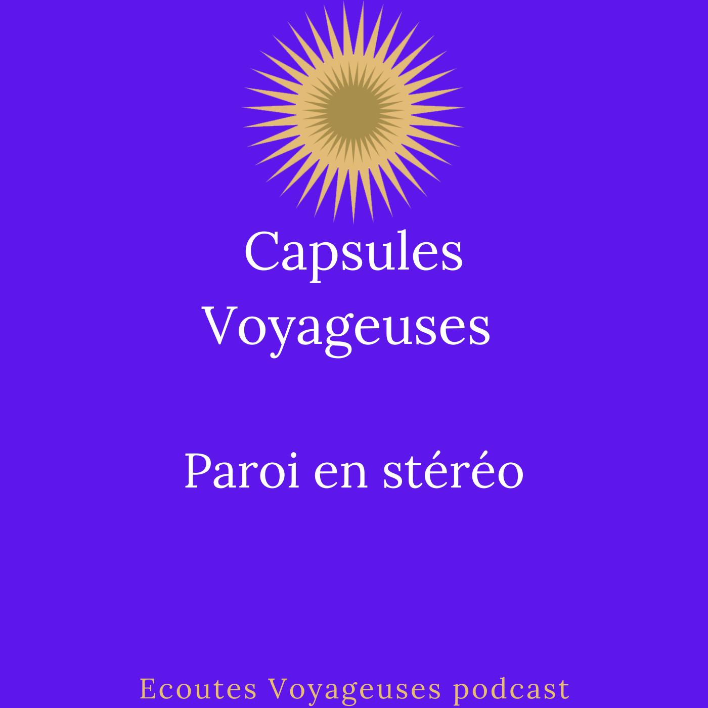 Paroi en stéréo / Capsules Voyageuses