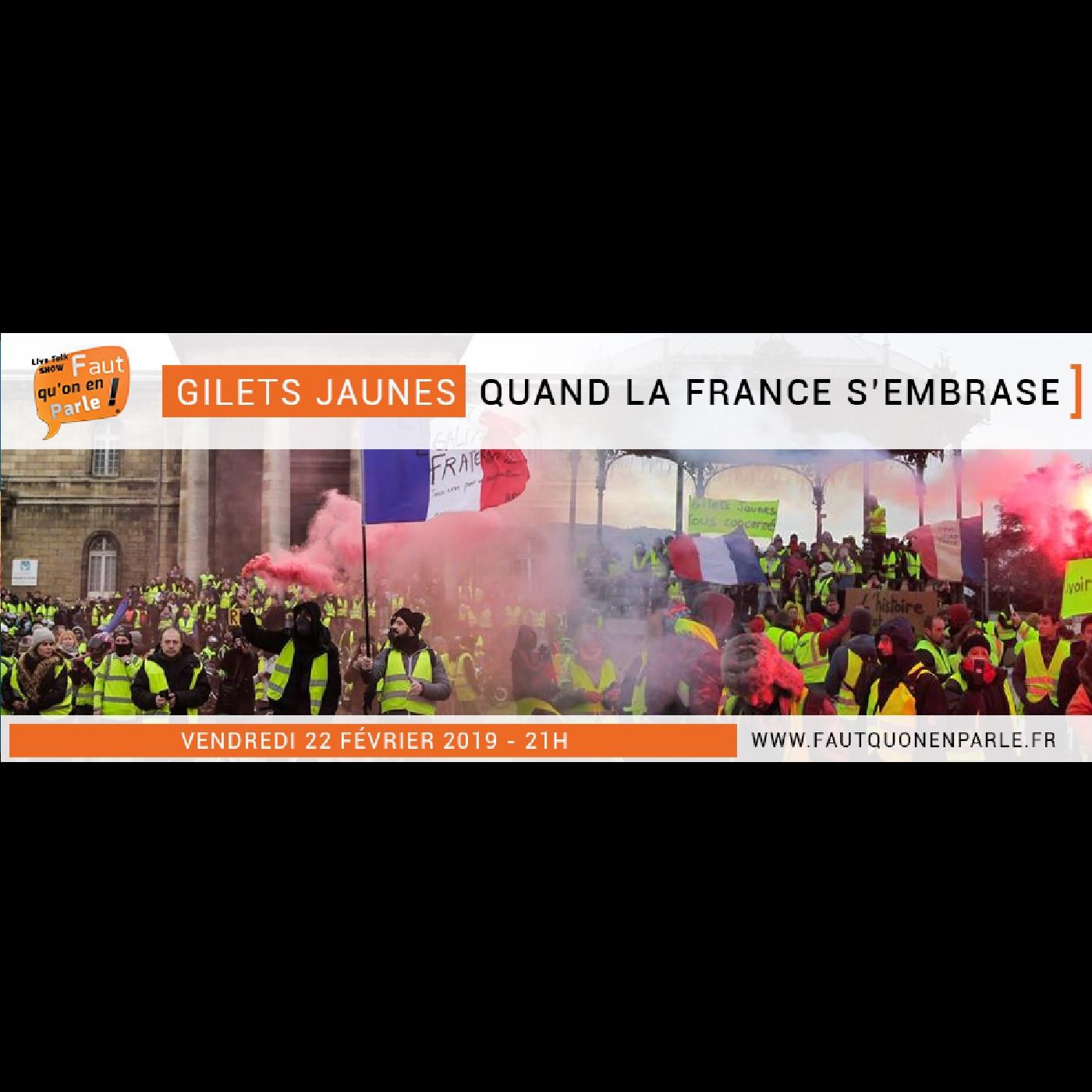 GILETS JAUNES: Quand la France s'embrase !