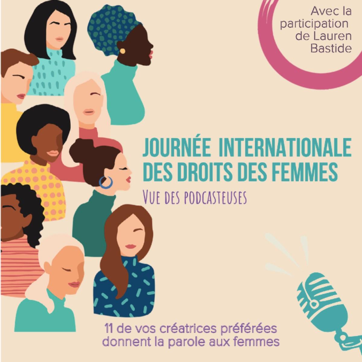 #33 Hors série 8 mars  - Le podcast, un espace de parole et liberté pour les femmes !