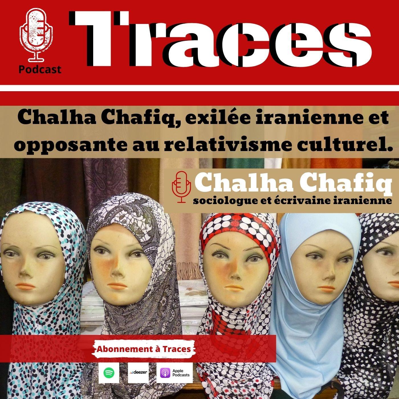 Chalha Chafiq, exilée iranienne et opposante au relativisme culturel.