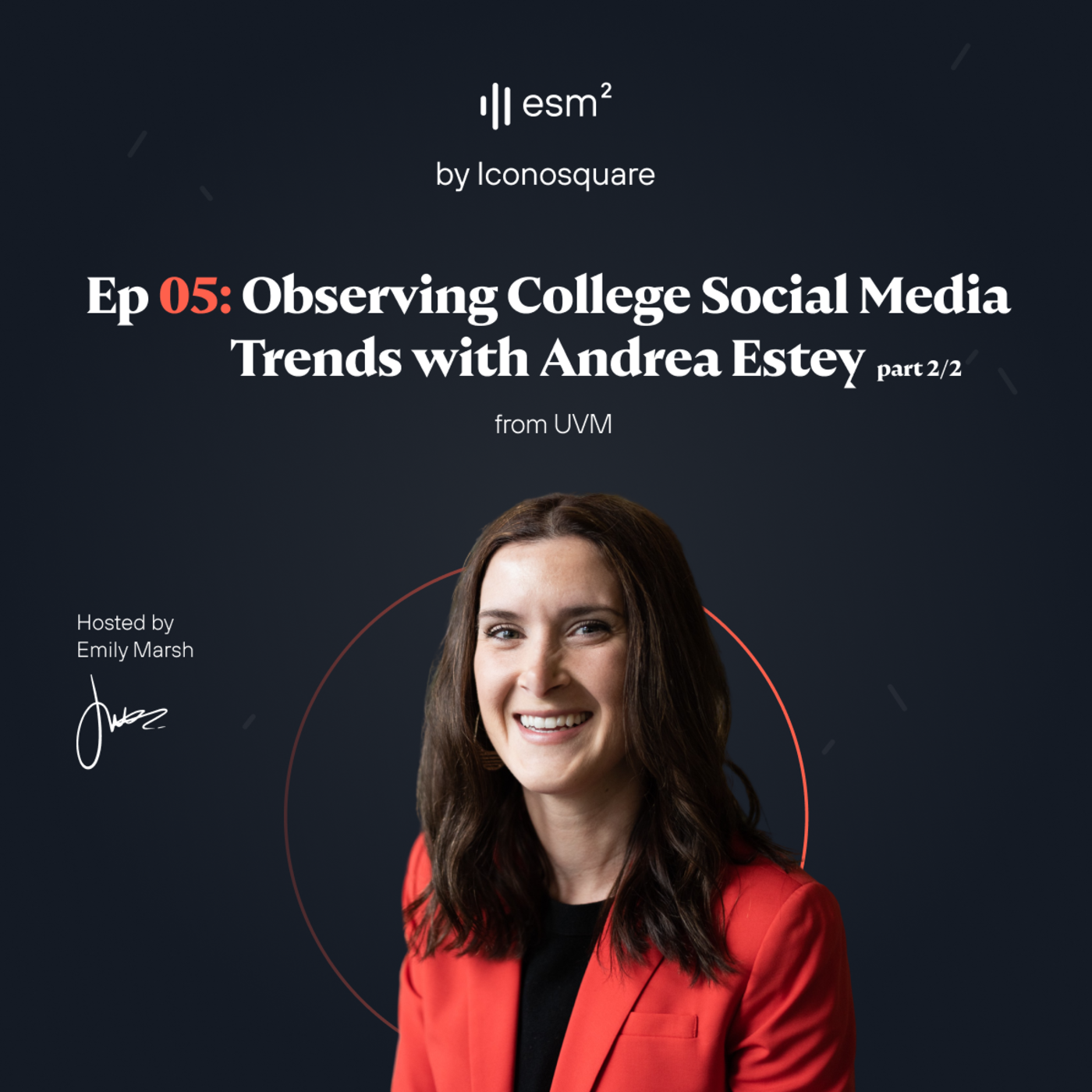 """""""Observing the new social media trends of college students"""" - Andrea Estey from UVM (Part 2 of 2)"""