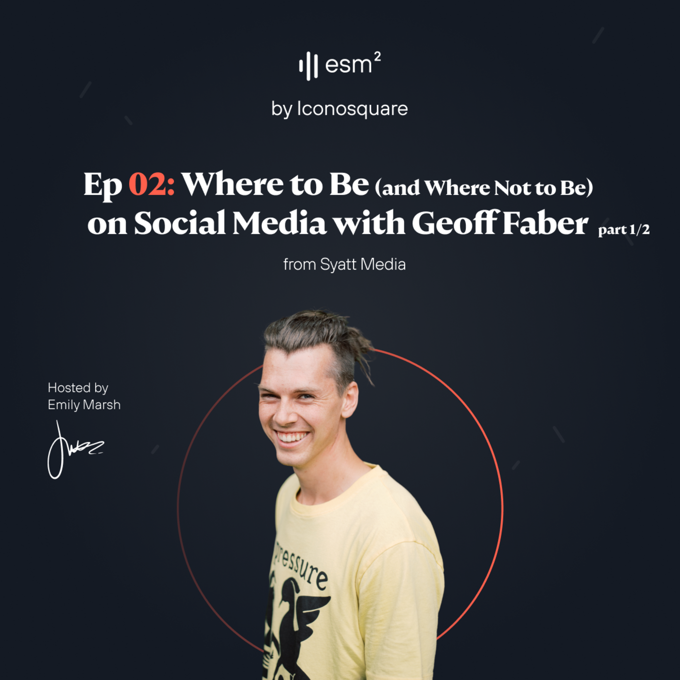 """""""Where to be (and where not to be) on social media"""" - Geoff Faber from Syatt Media (Part 1 of 2)"""