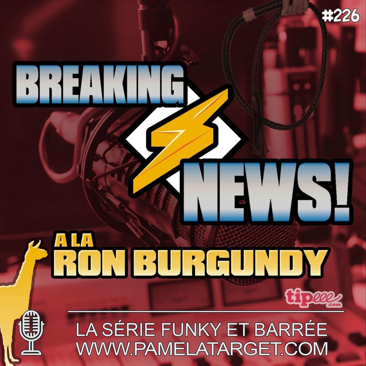 PTS02E26 BREAKING NEWS à la Ron Burgundy