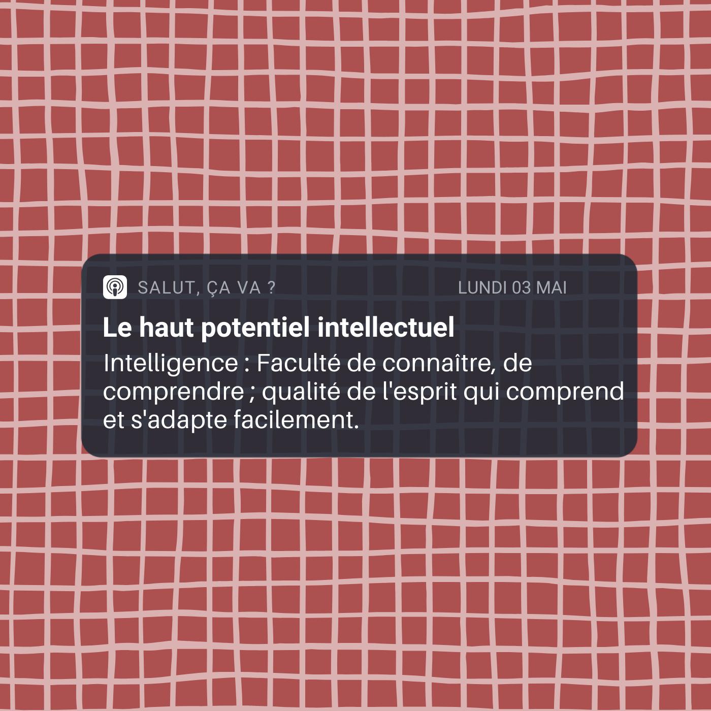 Le haut potentiel intellectuel (HPI)