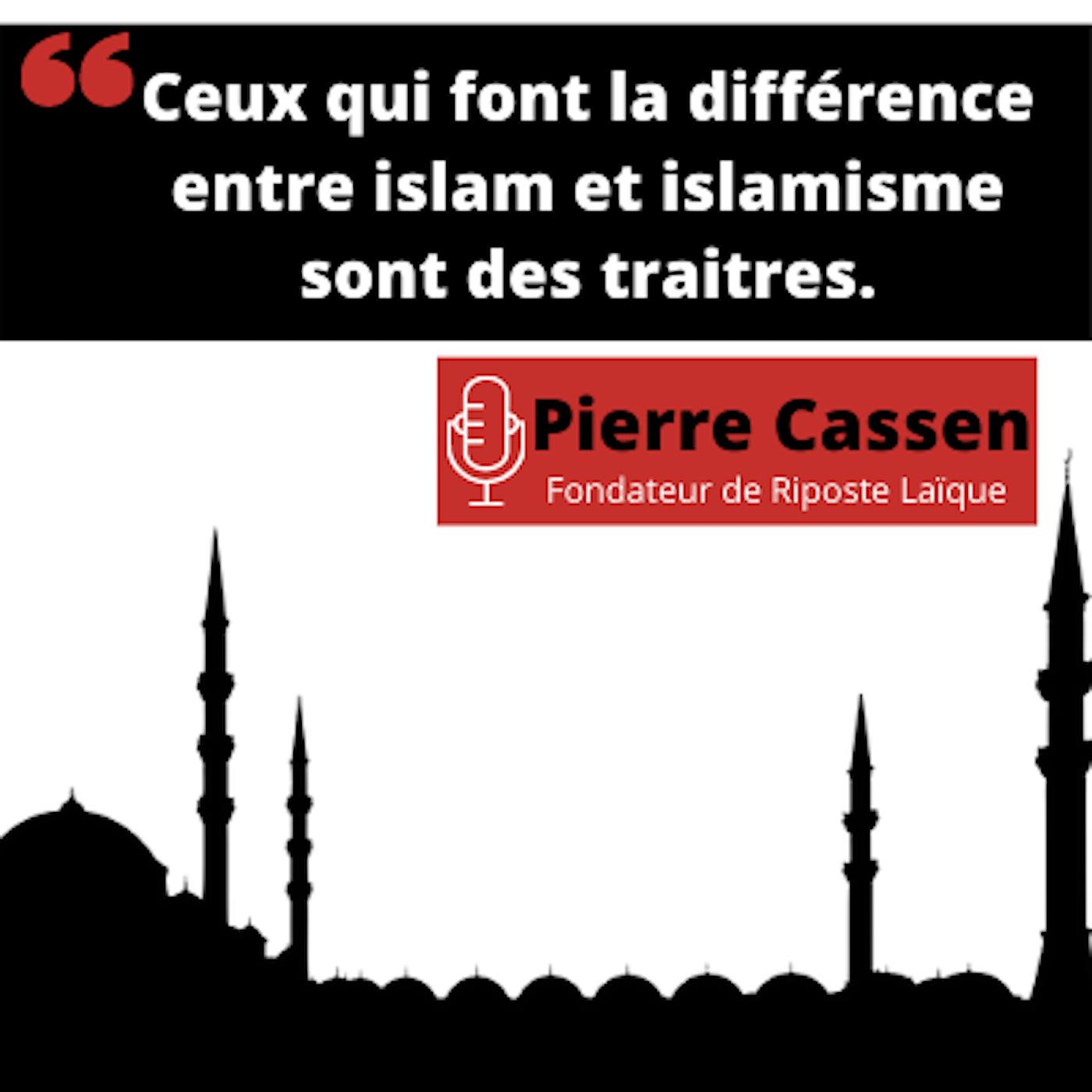 """Pierre Cassen : """"L'islam ne se combat pas avec la laïcité ni avec la république"""""""