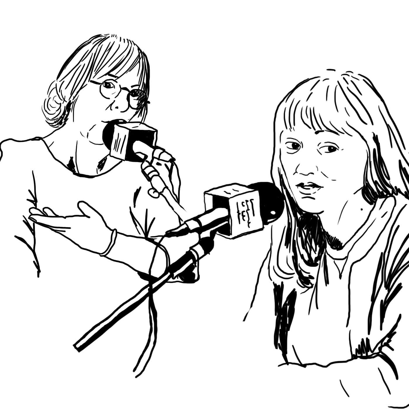 Rencontre avec Delphine Hecquet et Pascale Daniel-Lacombe