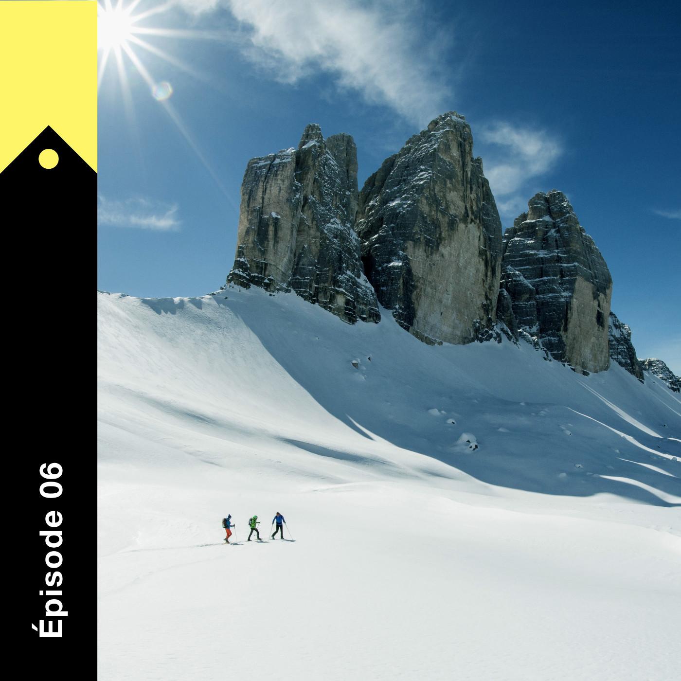 Les montagnes magiques des Dolomites