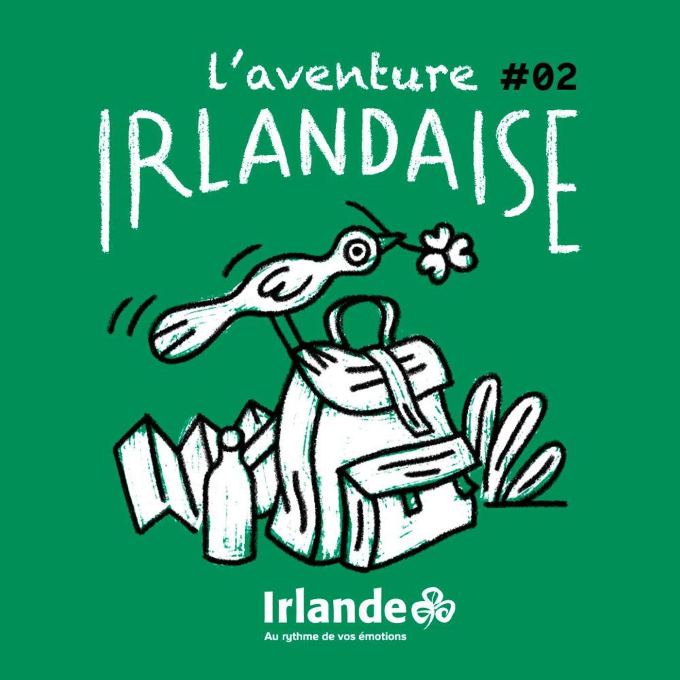 L'aventure irlandaise: Marcher en liberté