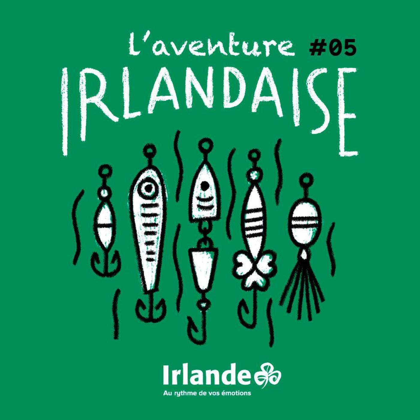 Bande annonce. L'aventure irlandaise: Vivre sa passion de la pêche.