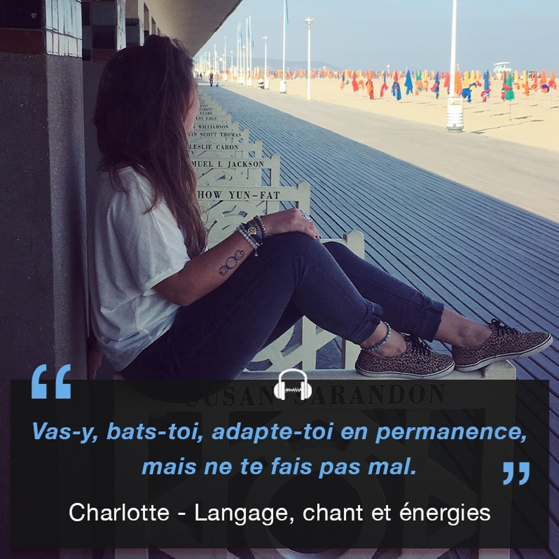 Charlotte - Langage, chant et énergies