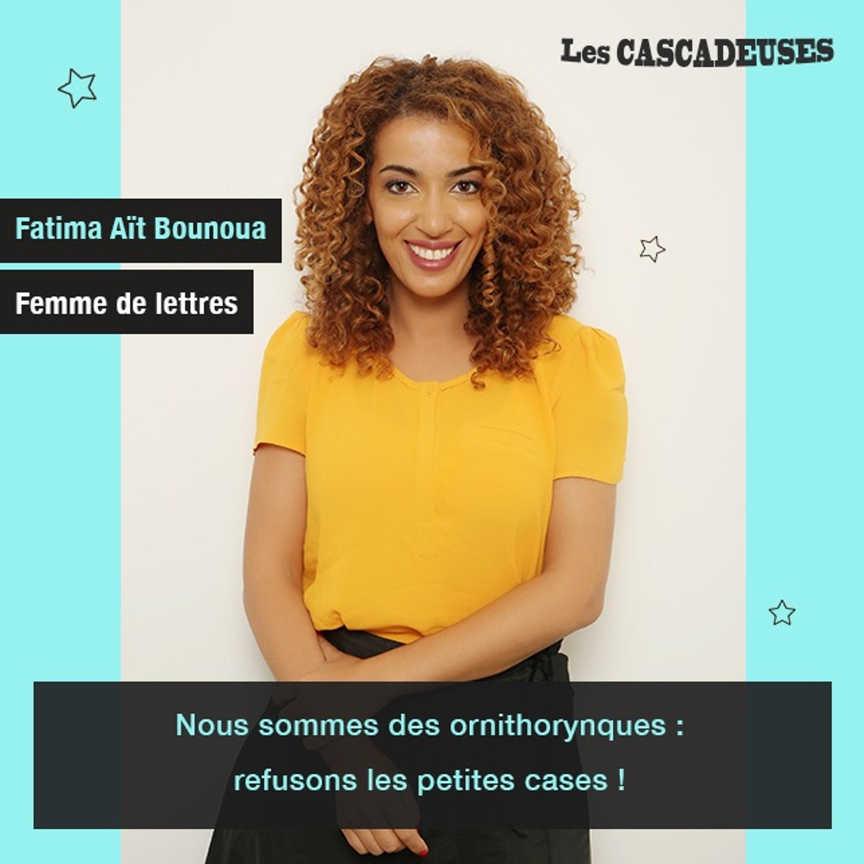 Donner des mots à ceux qui n'en ont pas - Fatima Ait Bounoua