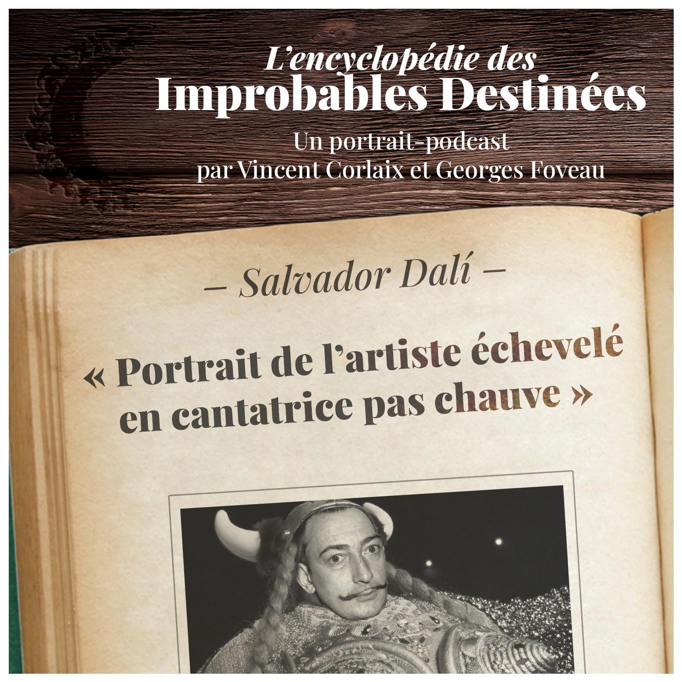 Salvador Dalí — Portrait de l'artiste échevelé en cantatrice pas chauve