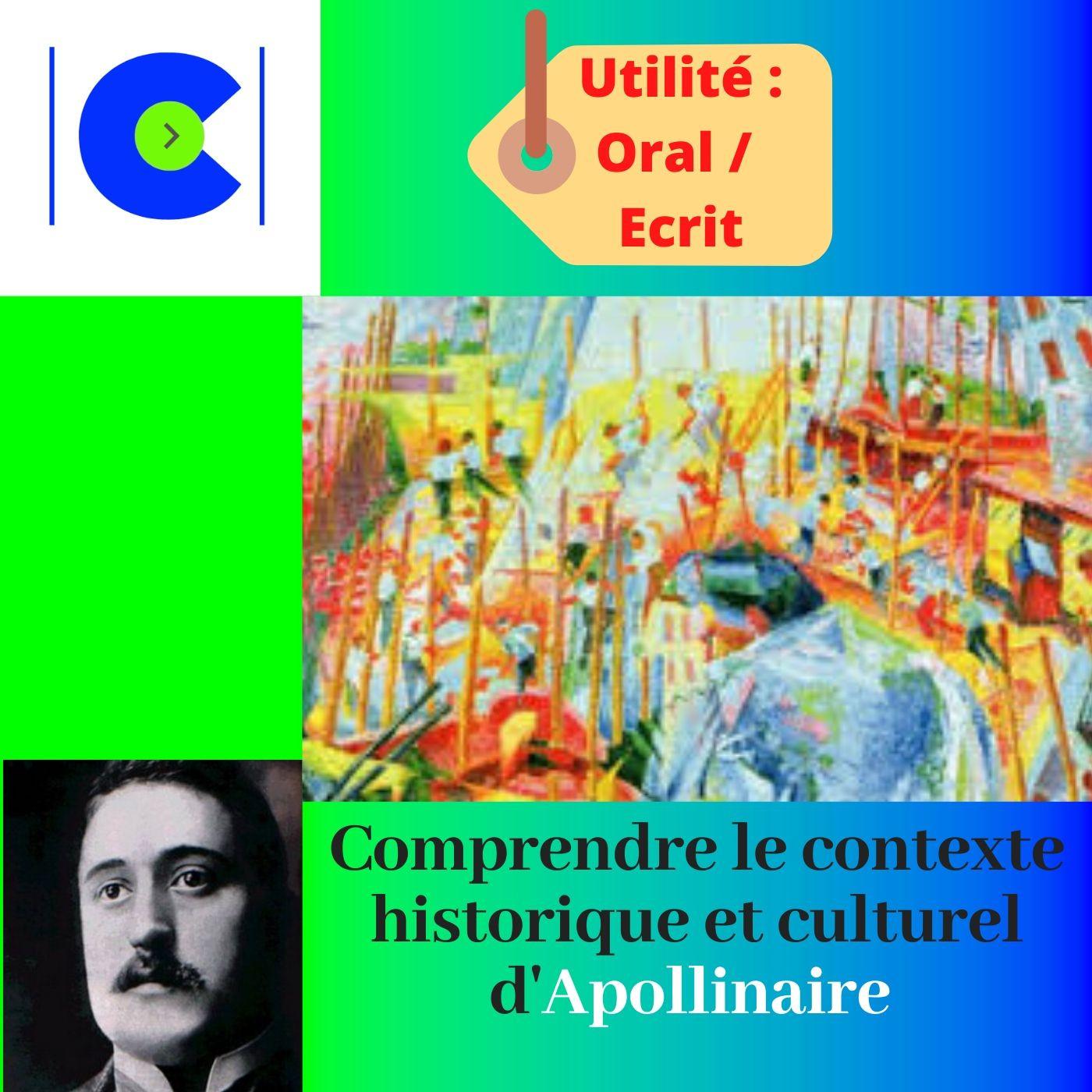 Comprendre le contexte historique et culturel d'APOLLINAIRE.