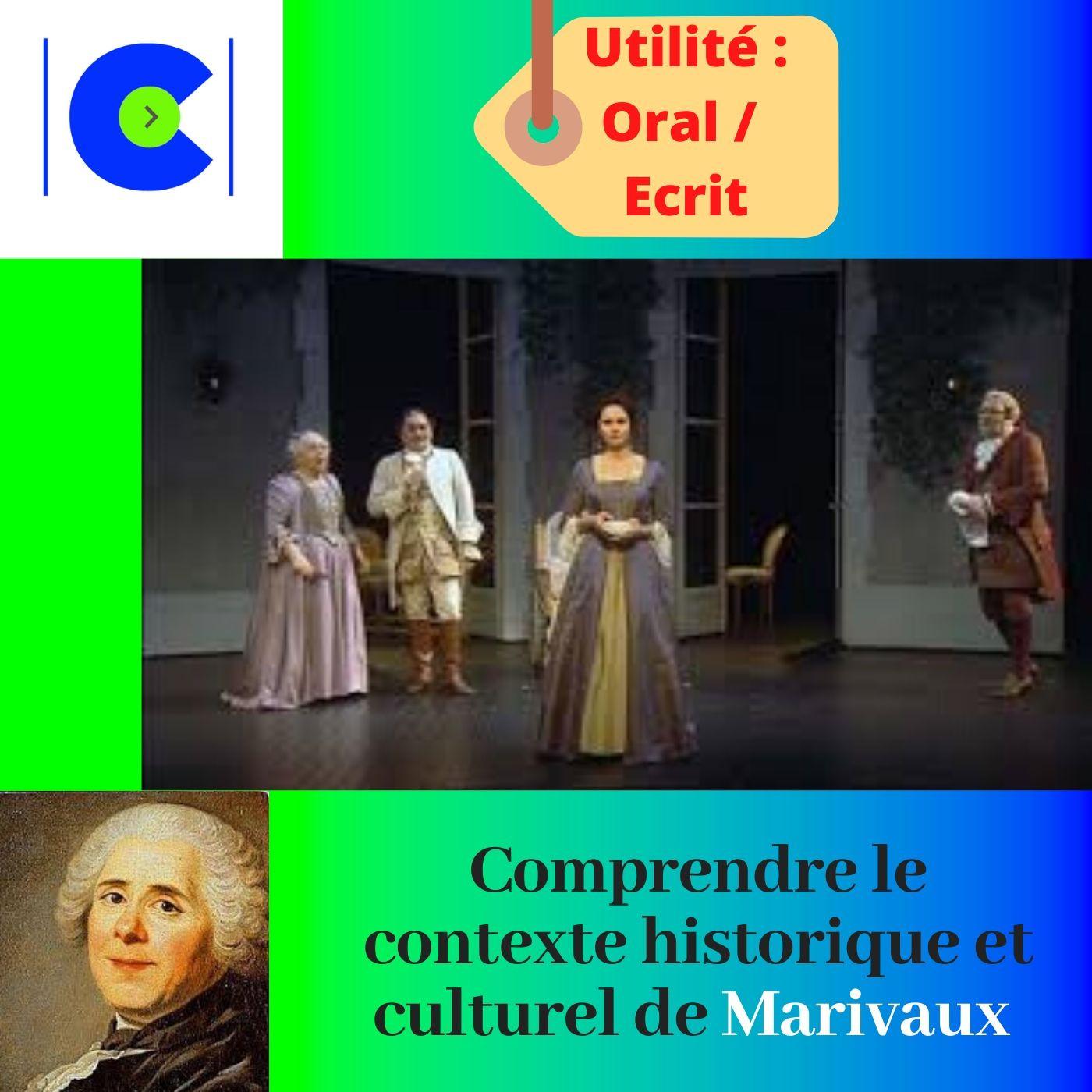 Comprendre le contexte historique et culturel de MARIVAUX.