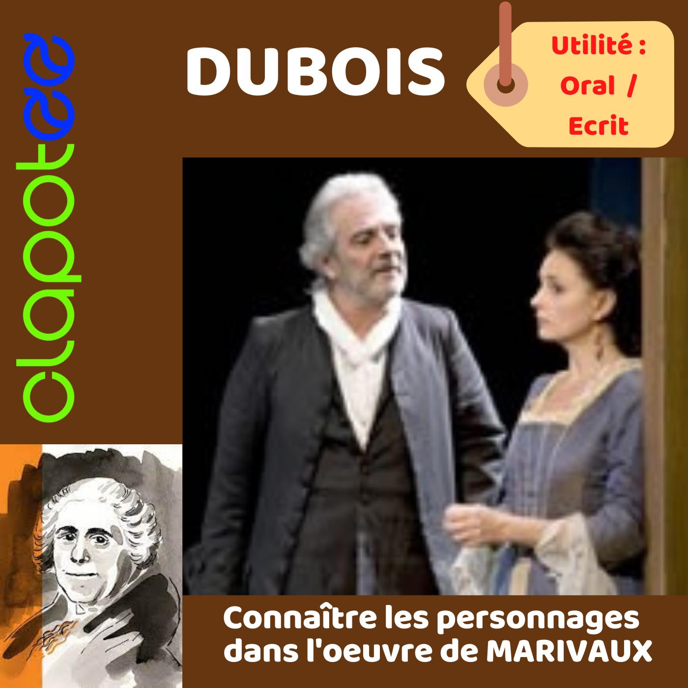 DUBOIS, L'habile valet stratège des Fausses Confidences de MARIVAUX