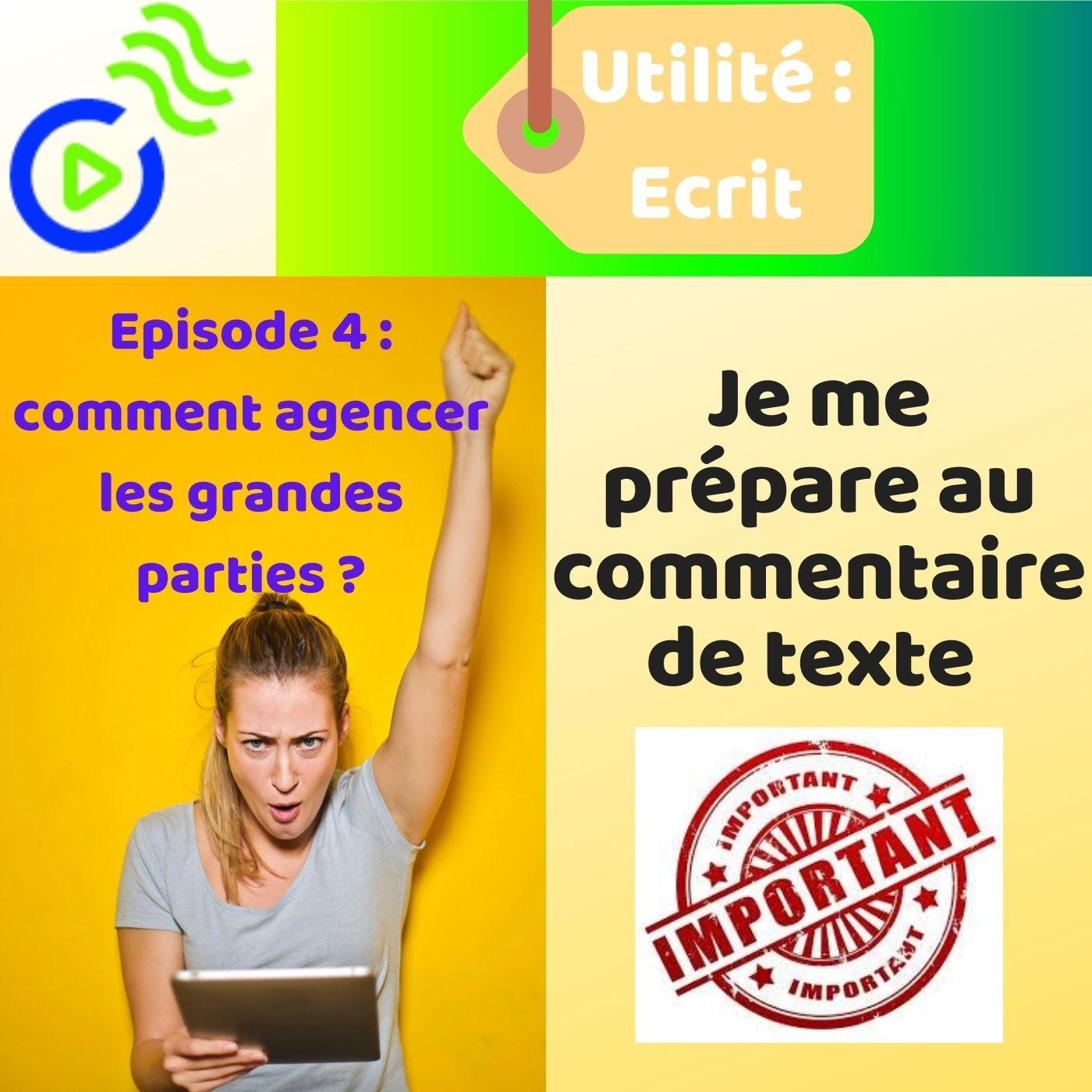 MÉTHODOLOGIE: Le Commentaire littéraire ( Episode 4)