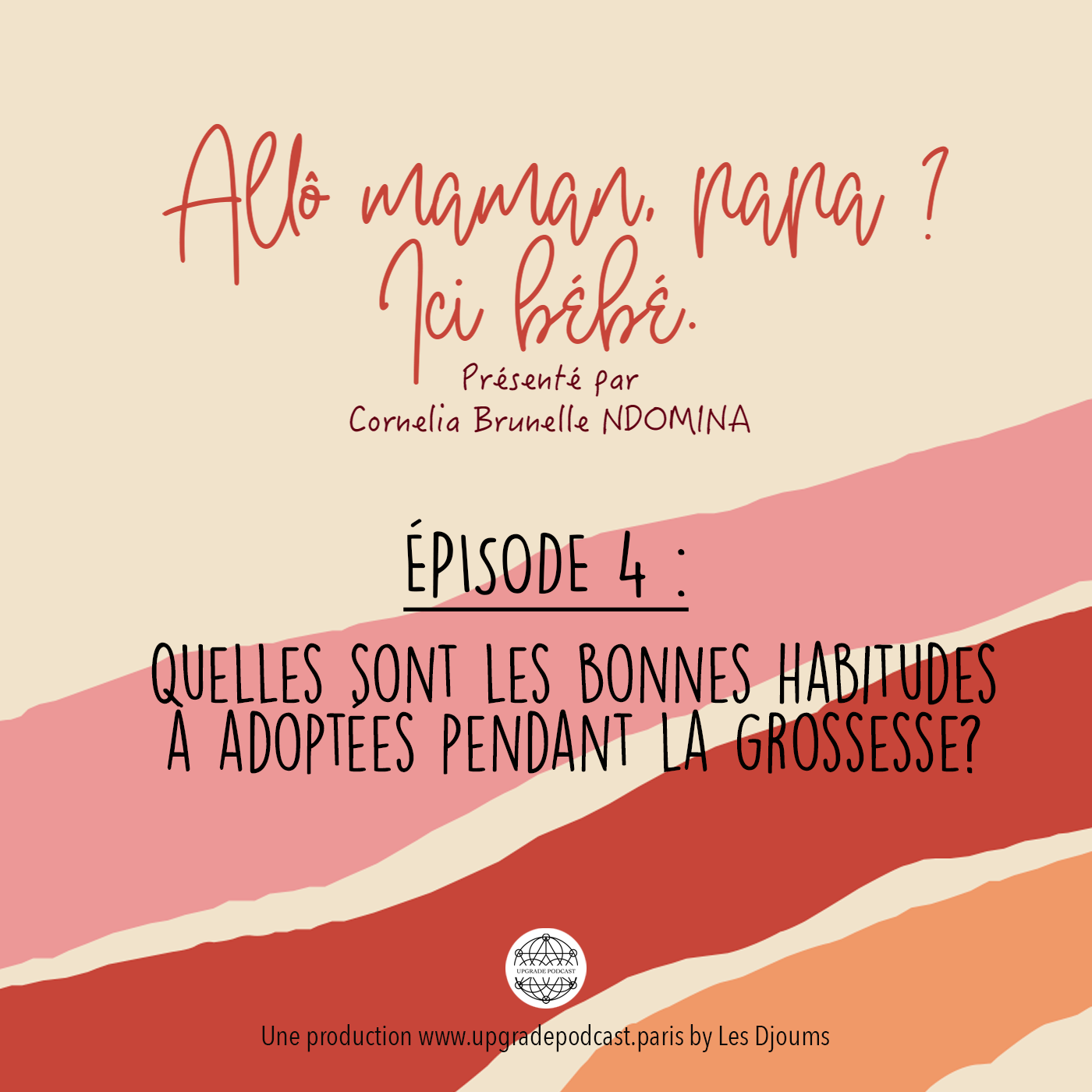 Episode 4: Quelles sont les bonnes habitudes à adoptées pendant la grossesse ?