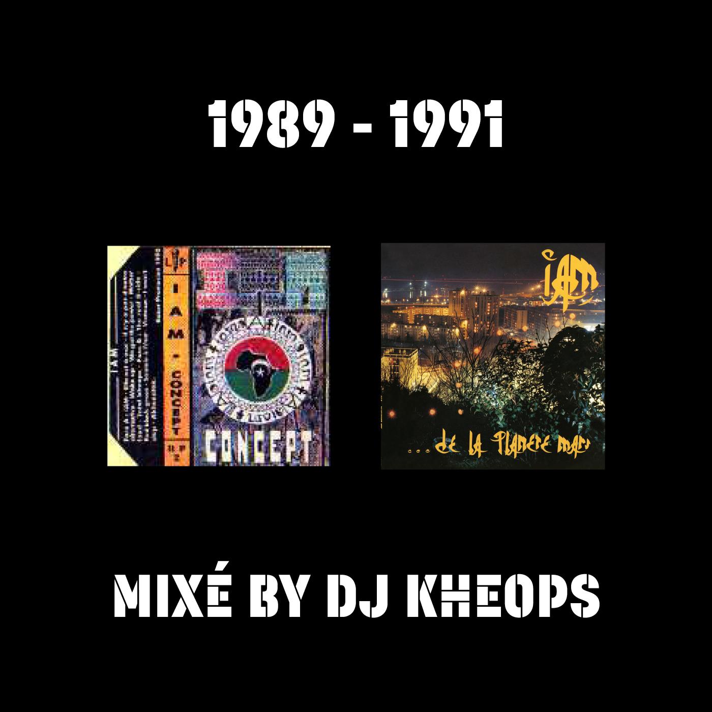 CONCEPT - DE LA PLANETE MARS MIXE BY DJ KHEOPS
