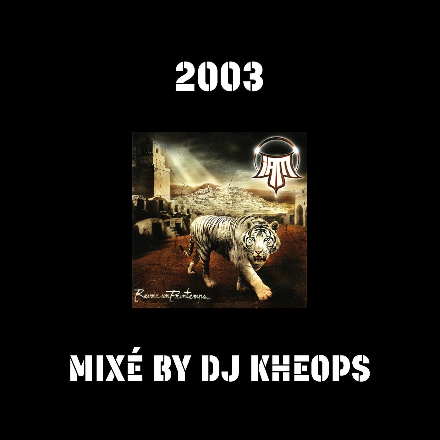 REVOIR UN PRINTEMPS MIXÉ BY DJ KHEOPS