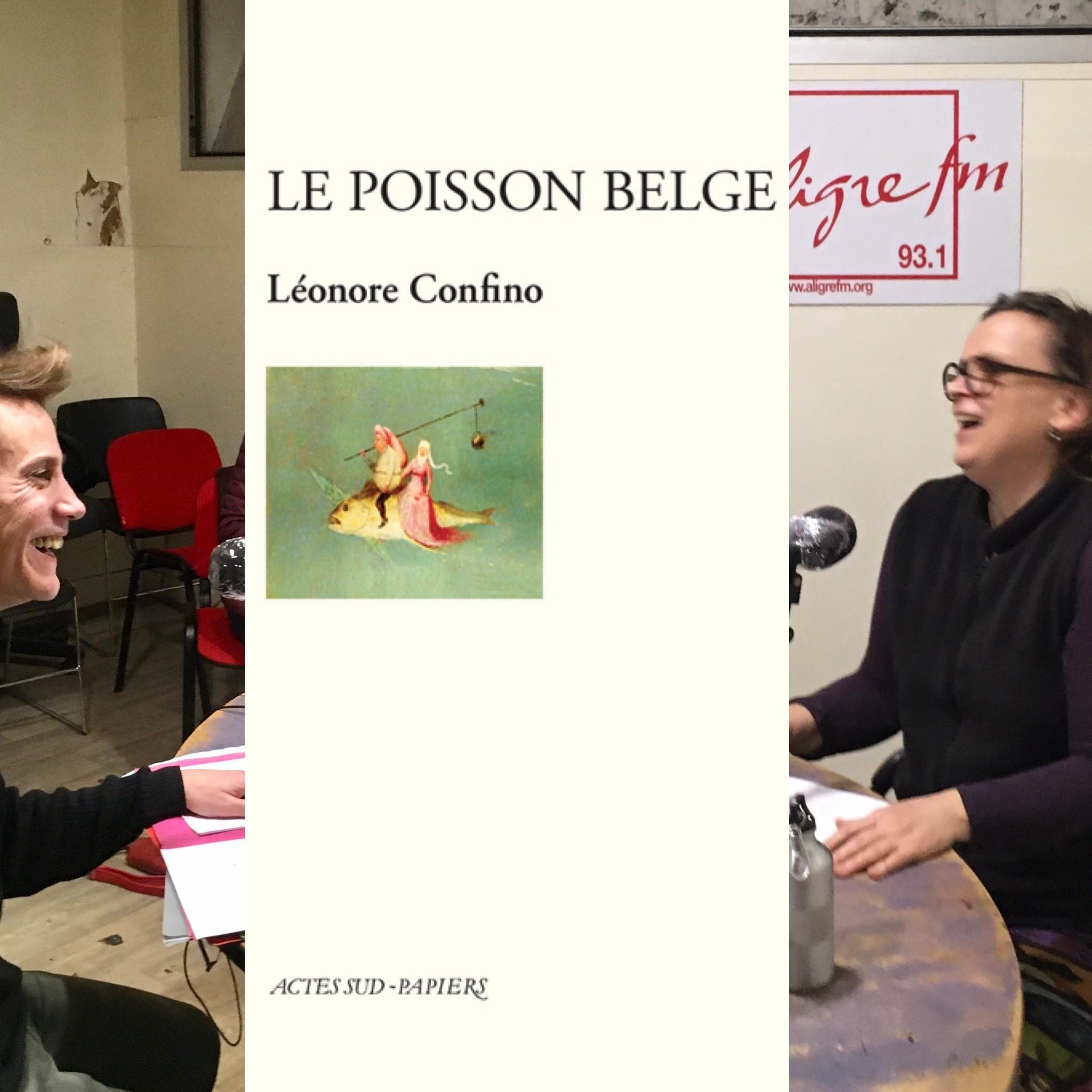 On dirait du théâtre # 12 Lecture du  « Poisson Belge » de Léonore Confino, Actes Sud Papiers
