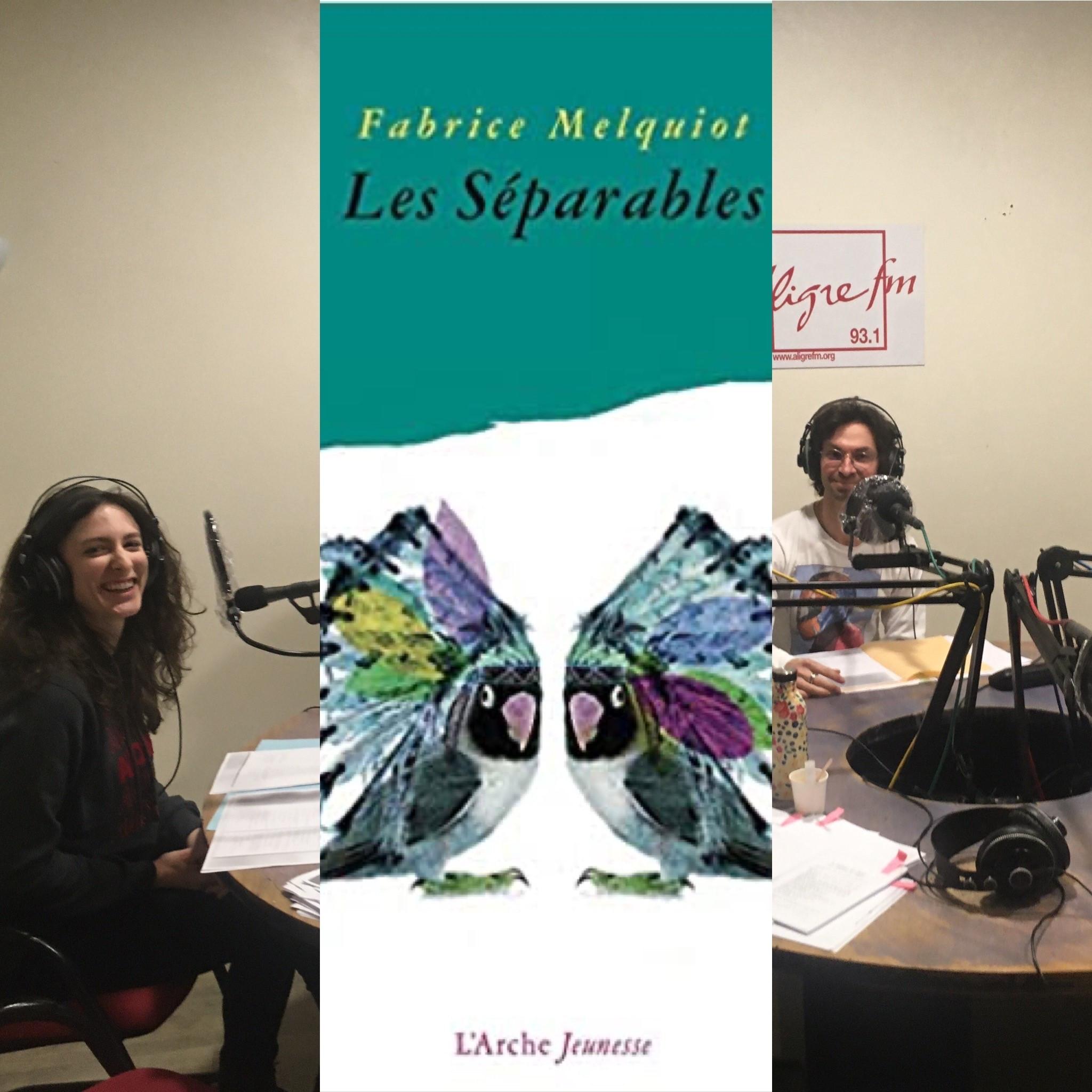 On dirait du théâtre # 15 Les séparables de Fabrice Melquiot ; L'Arche éditeur