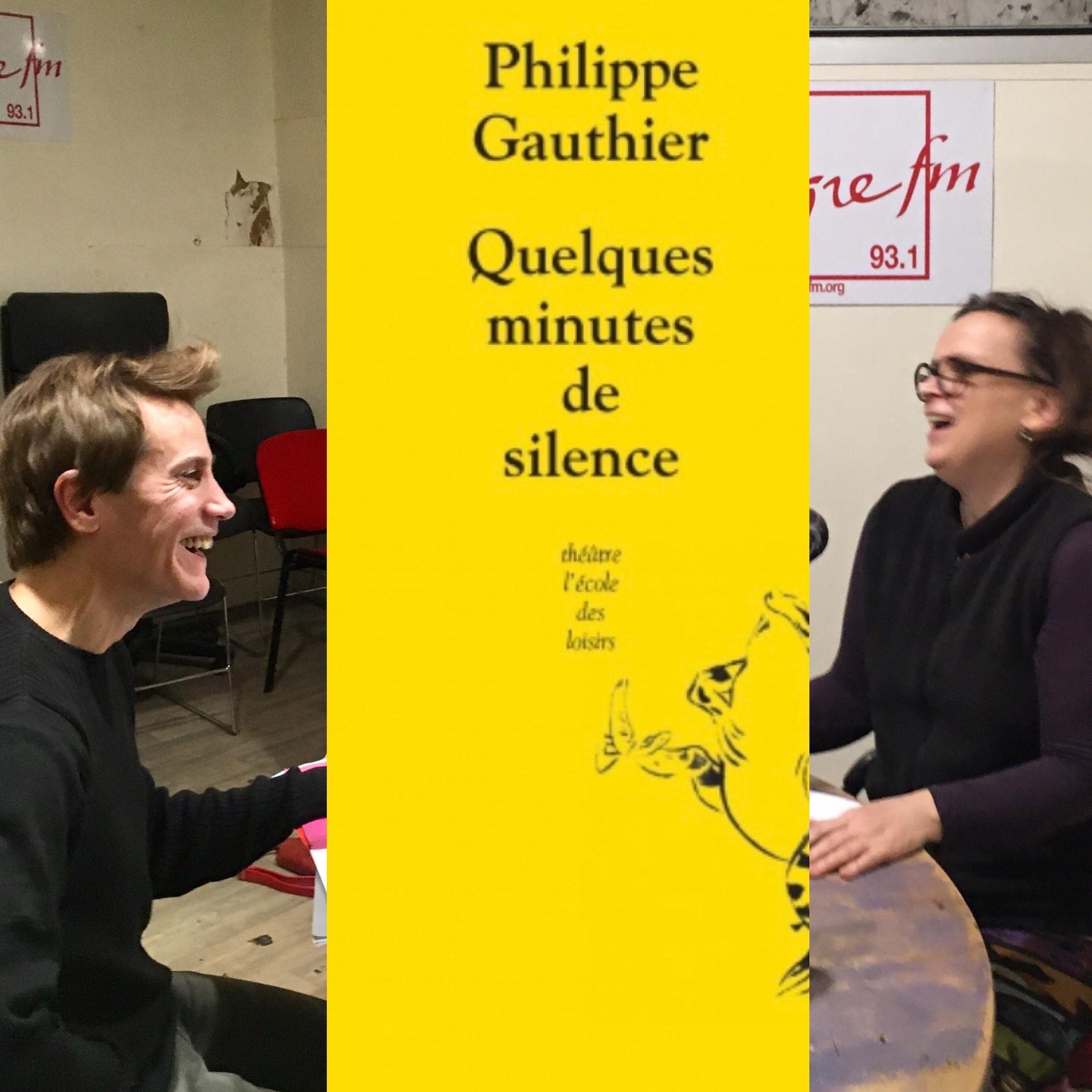 On dirait du théâtre #5 : Quelques minutes de silence de Philippe Gauthier à l'Ecole des Loisirs