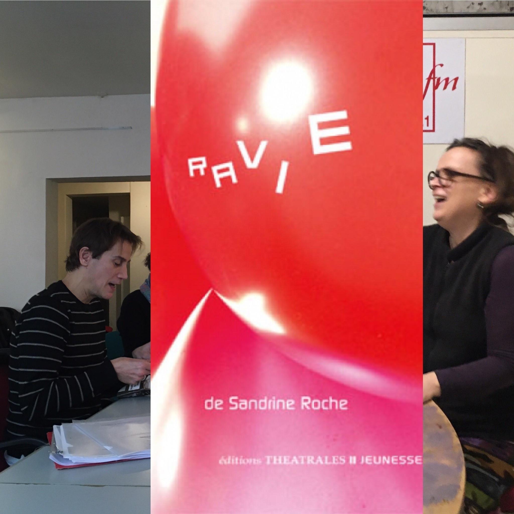 On dirait du théâtre #7 : Ravie de Sandrine Roche aux éditions Théâtrales jeunesse