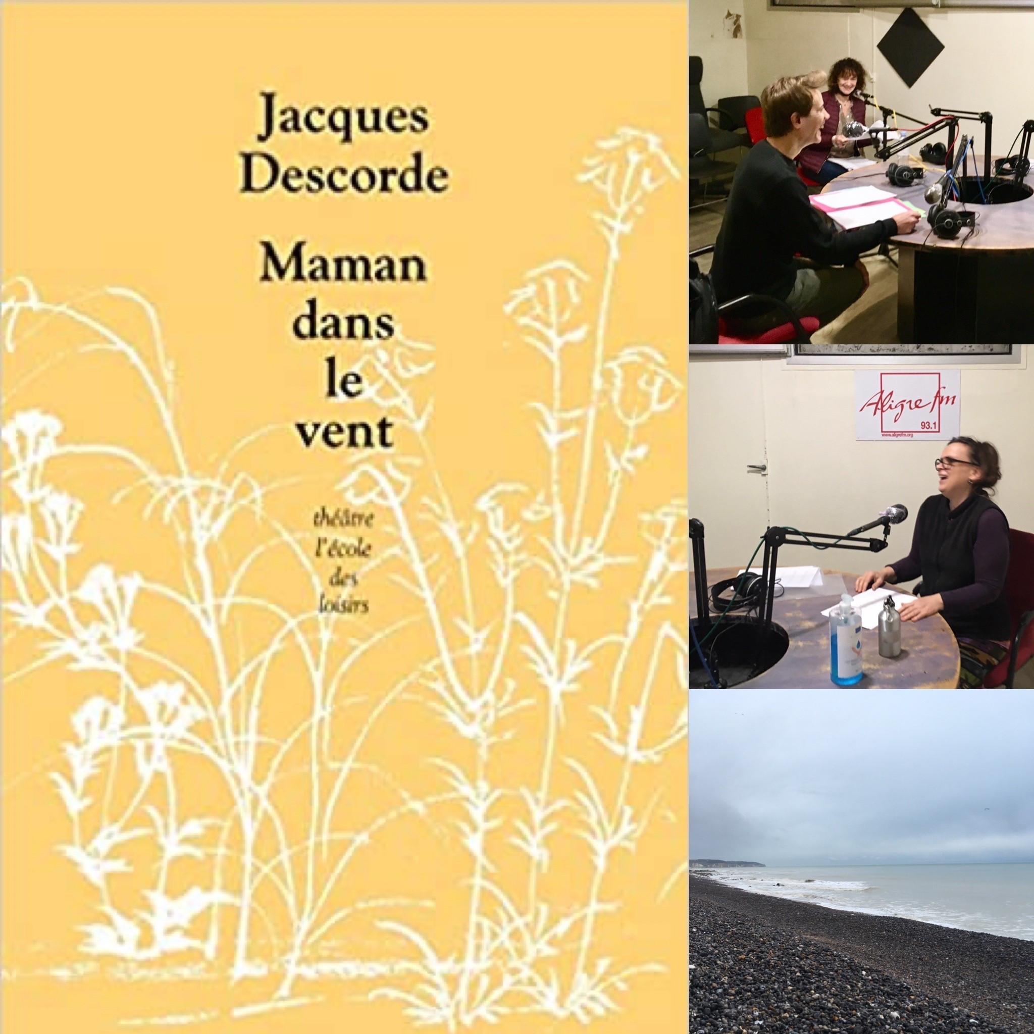 On dirait du théâtre # 9 Lecture Maman dans le vent de Jacques Descorde ; éd L'Ecole des loisirs