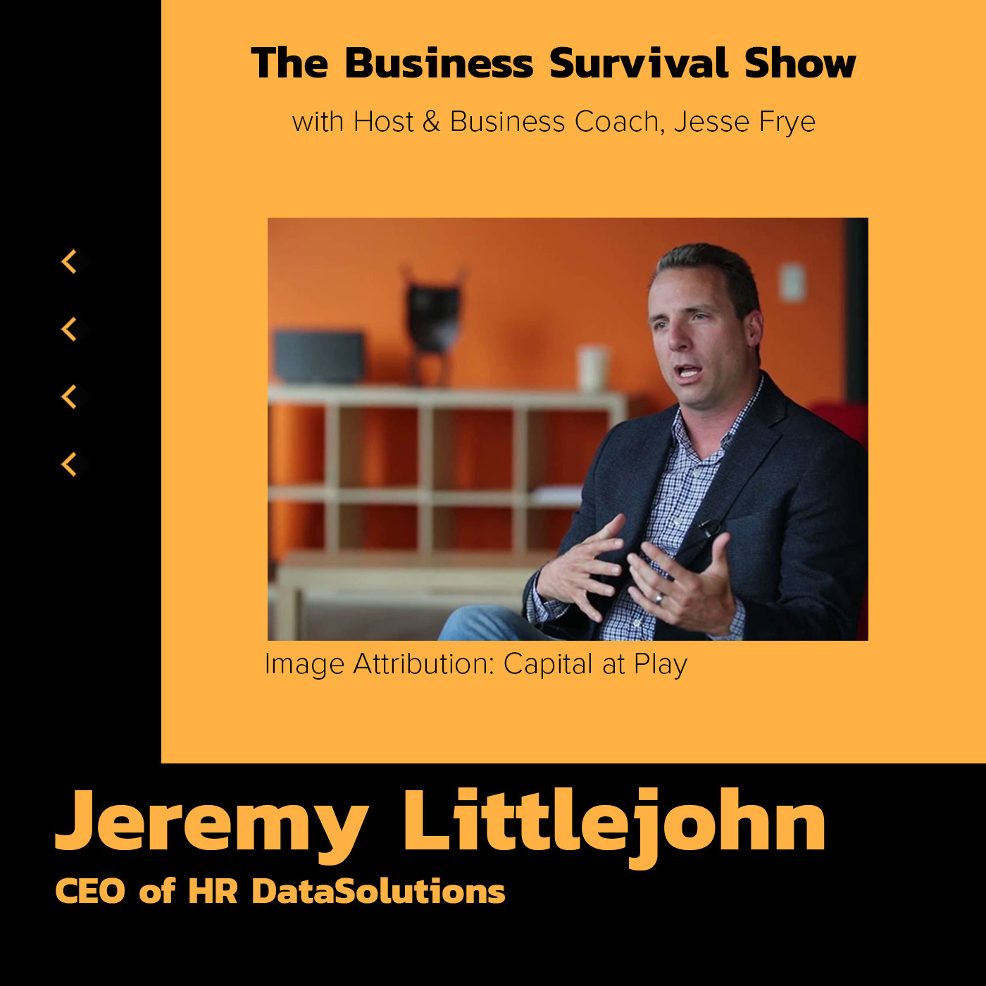HR DataSolutions CEO, Jeremy Littlejohn, built a business at being terrible at something!