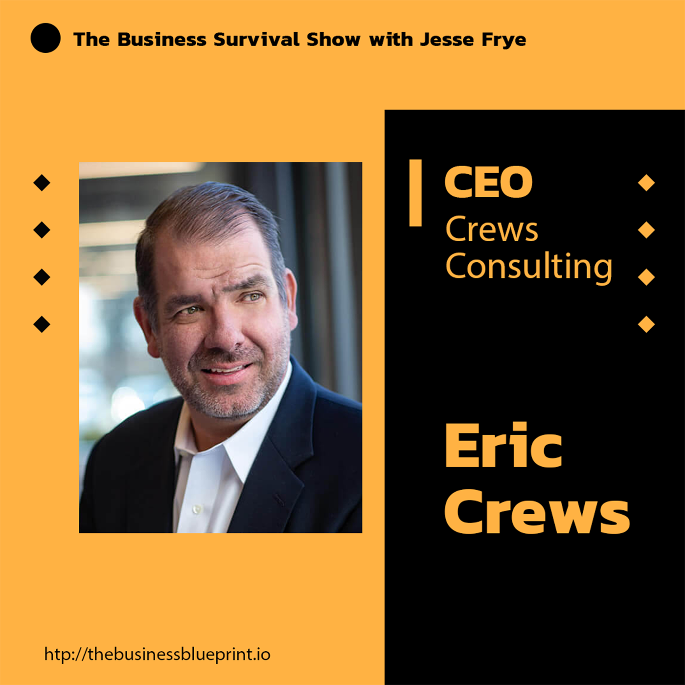 "CEO of Crews Consulting, Eric Crews, is the Entrepreneurs ""Jedi Master"""