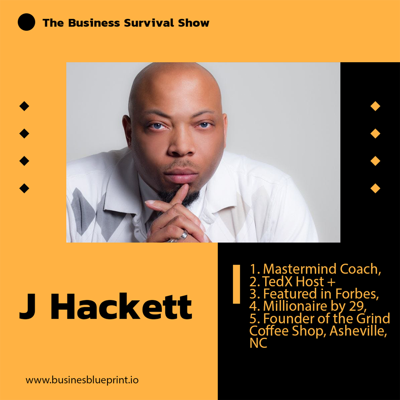 Entrepreneur & Business Owner, J Hackett talks about embracing fear, taking action and business revival