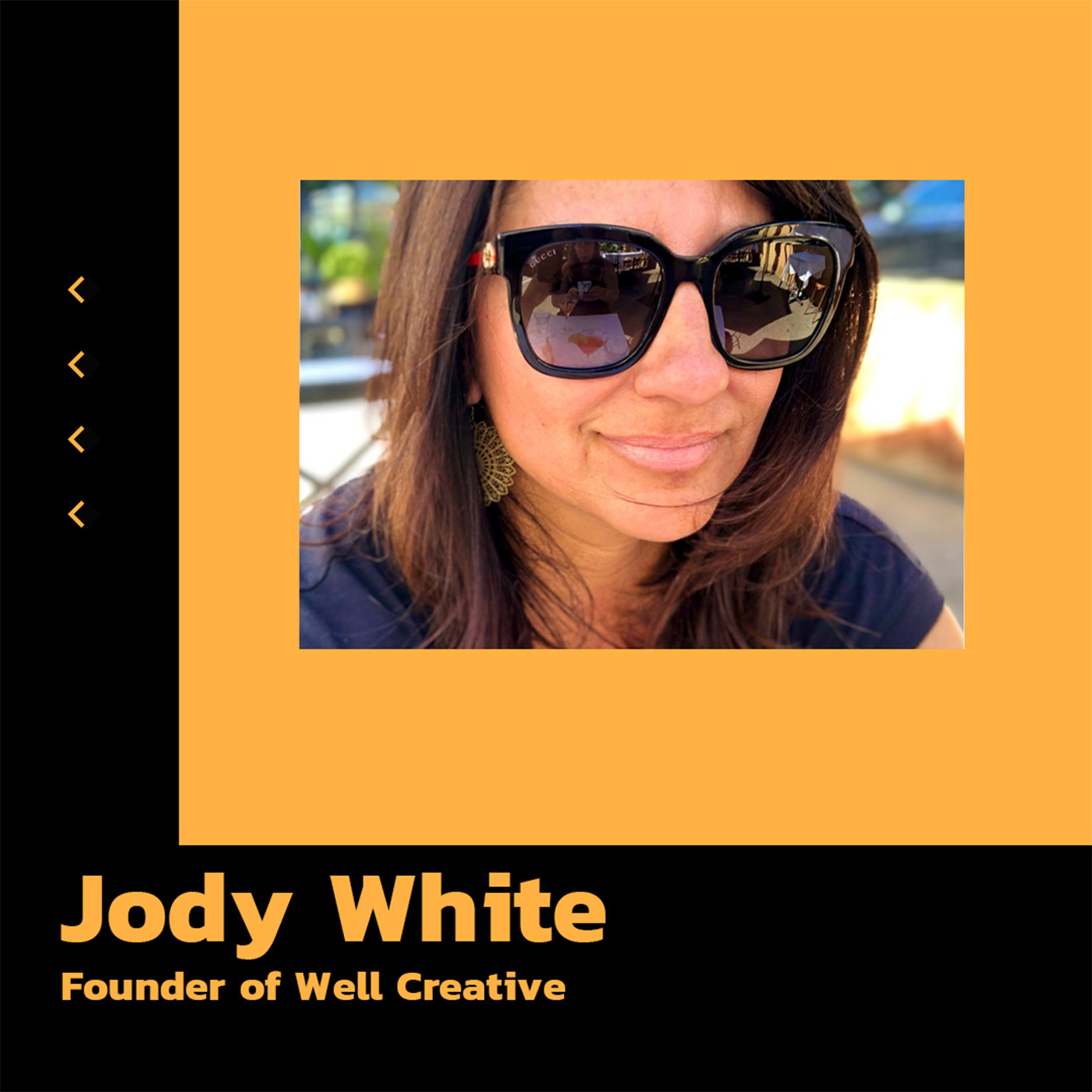 Jody White, Founder of Well Creative talks imposter syndrome and social media