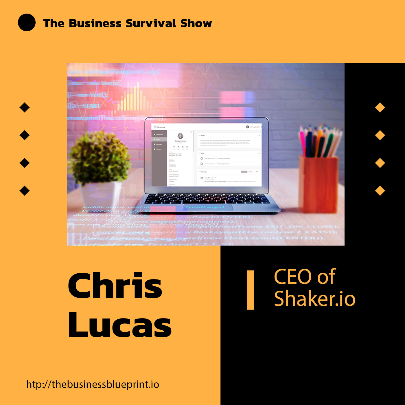 Shaker CEO Chris Lucas talks breaking through the clutter of chaos