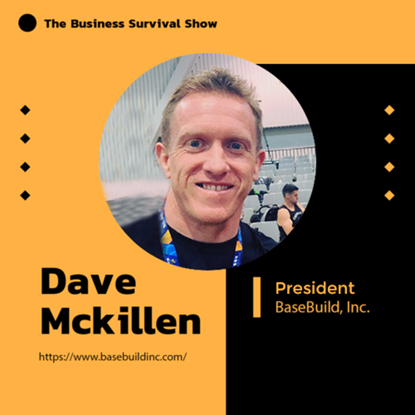 """Irishman"" Dave McKillen, President at Basebuild, Inc talks transparency & remote teams"